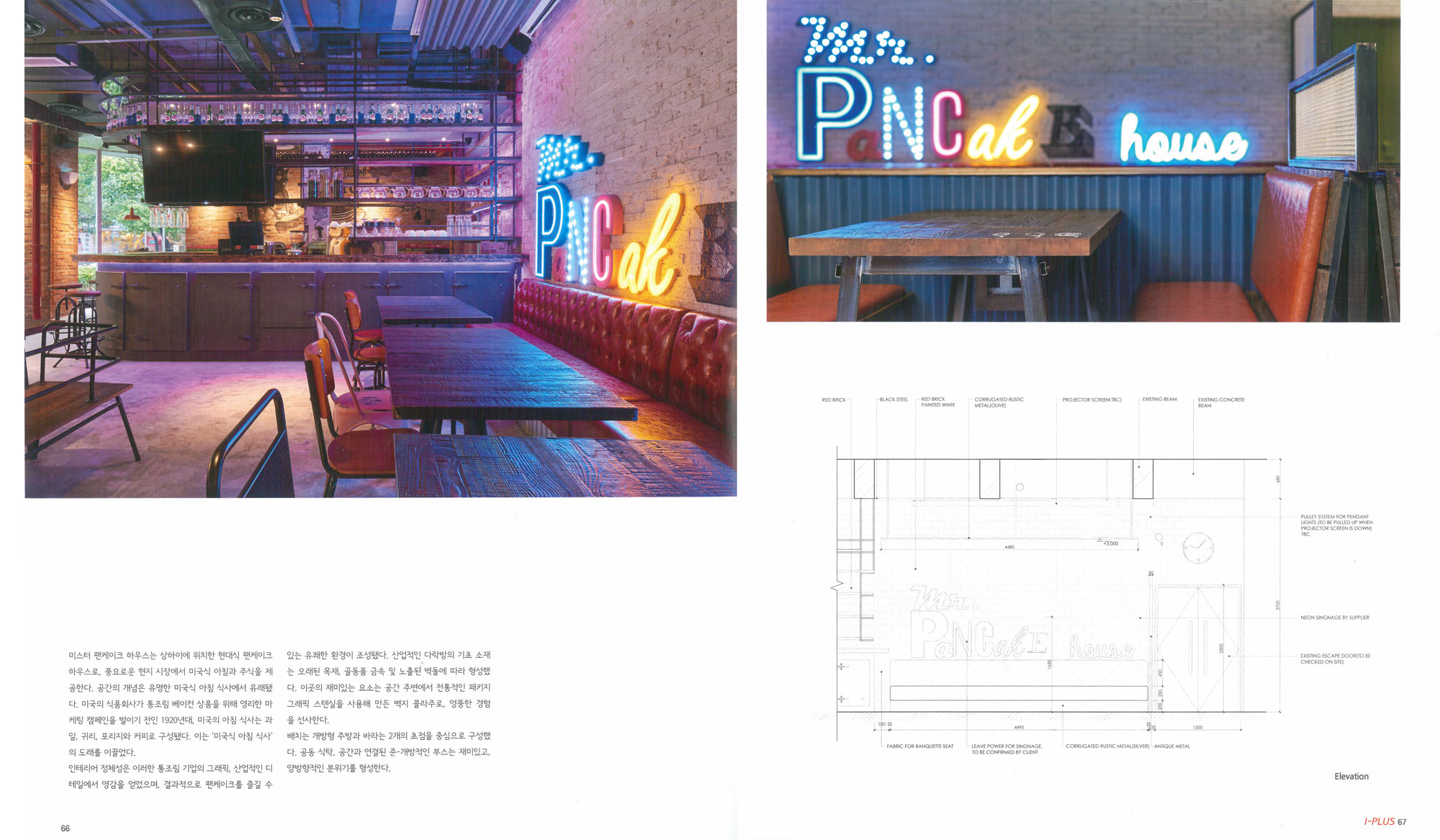Mr Pancake House is featured on PLUS Magazine No.016
